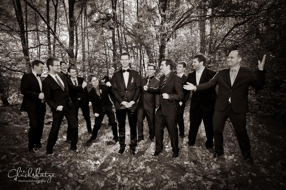 bridal party groomsmen berlin