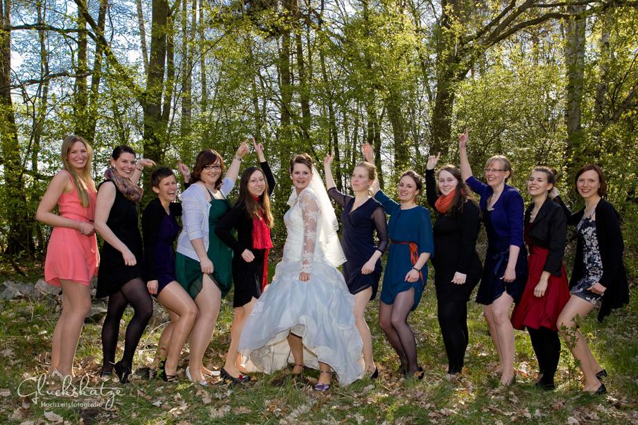 wedding photography berlin bridesmaids