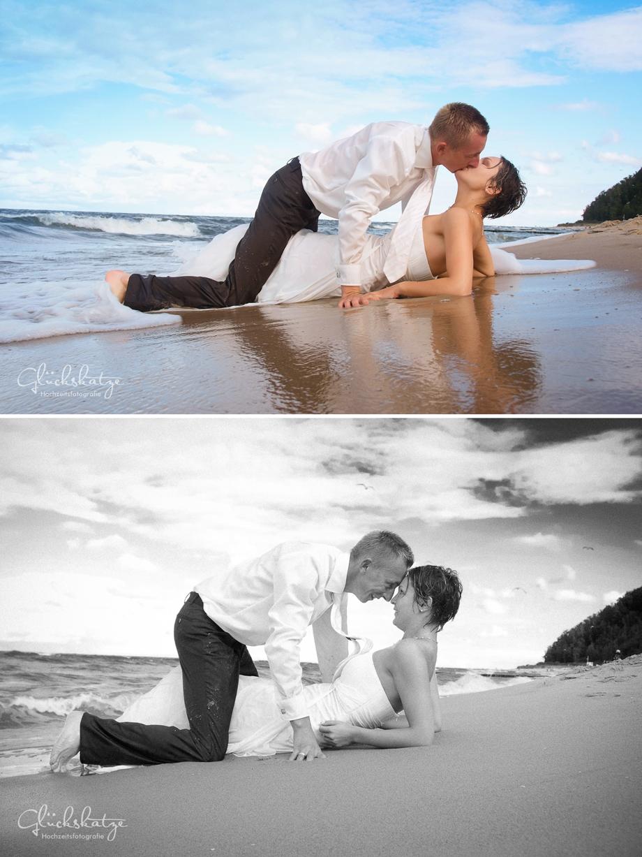 romatic wedding photography maritime glückskatze