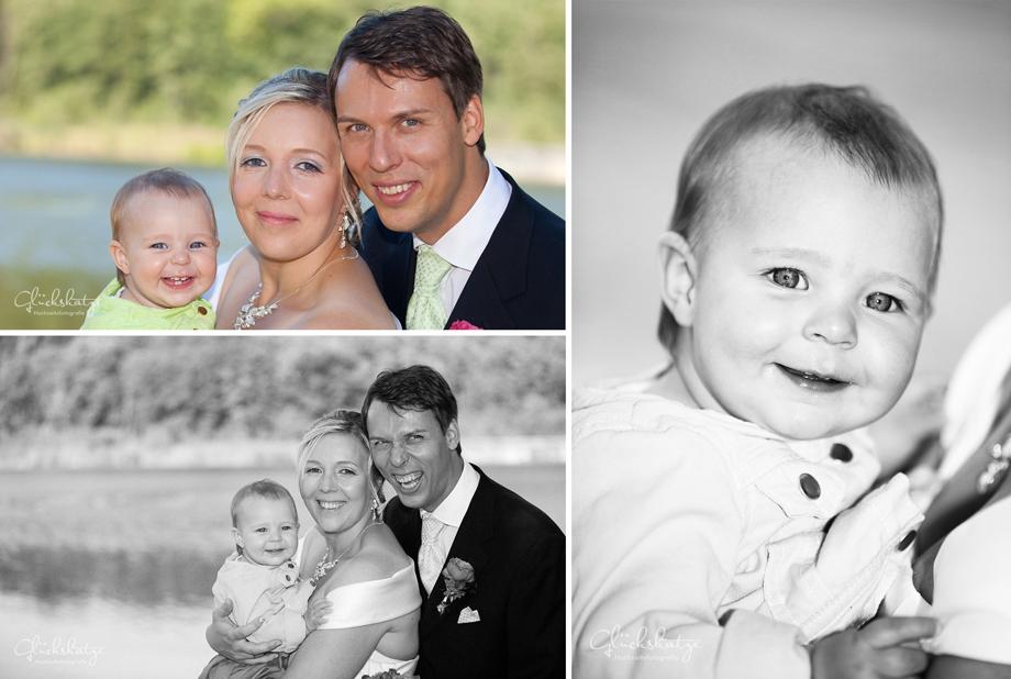 familie Hochzeit heirat kinder familienfoto glueckskatze