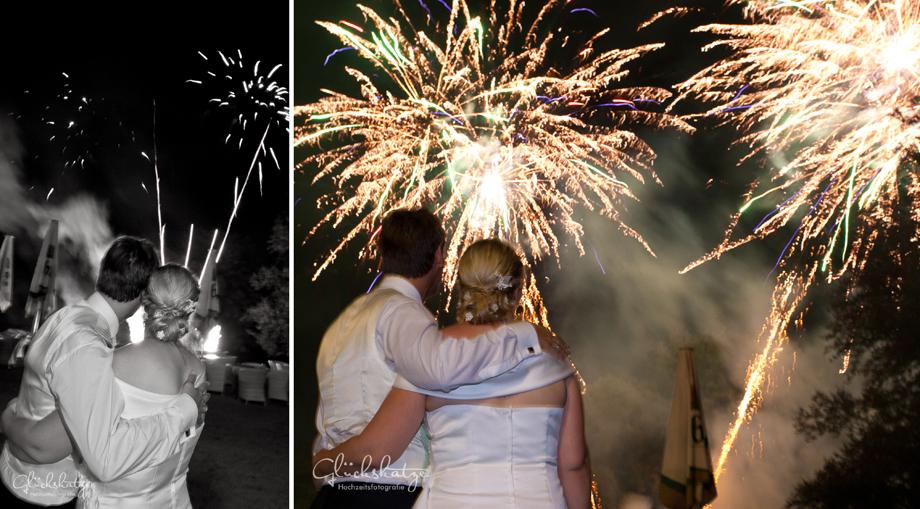 hochzeit feuerwerk wedding fireworks glückskatze