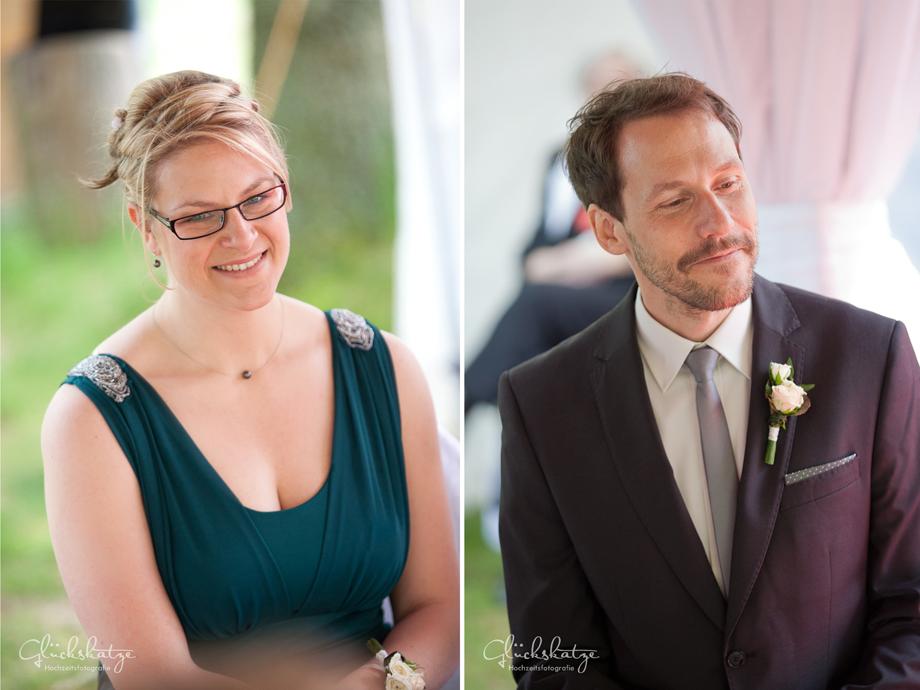 best man bridesmaid wedding ceremony germany