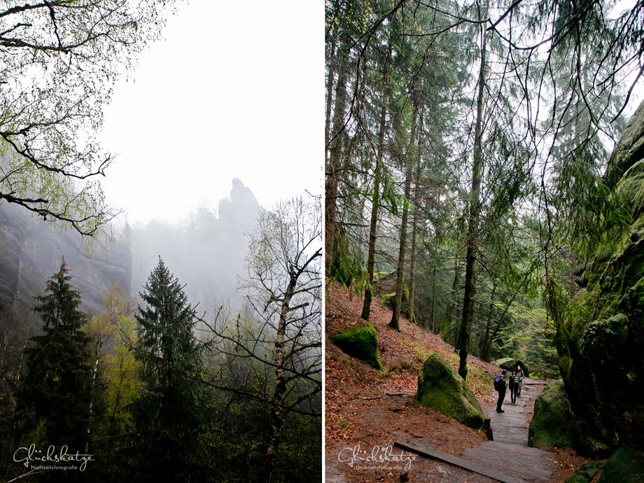 elbsandsteingebirge heilige stiege schmilka