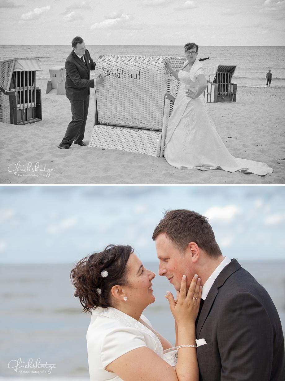 Hochzeitsfotografie usedom glückskatze
