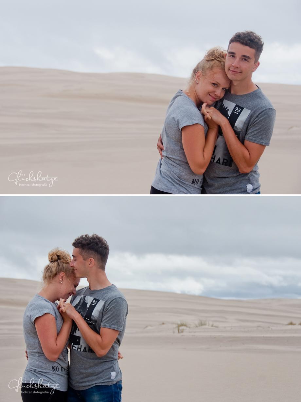 coupleshoot engagement photography dunes