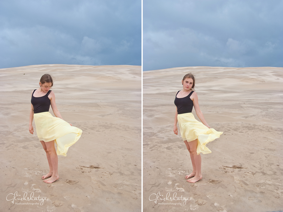 destination photographer sea desert shooting