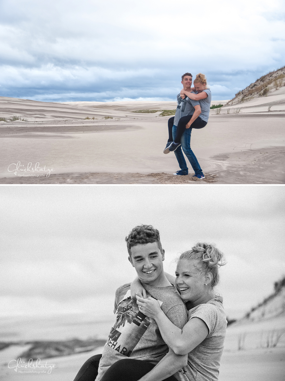 engagement shoot paarfotos ostsee baltic sea