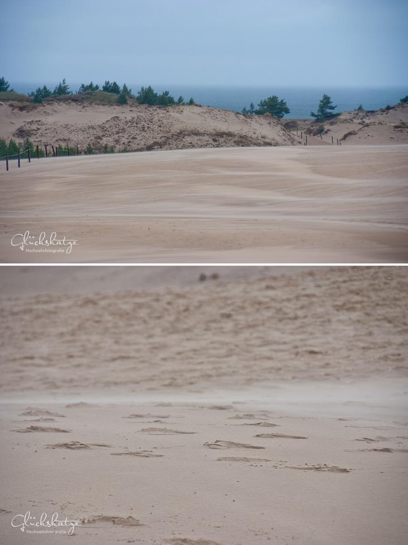leba dunes düne ostsee polen baltic sea