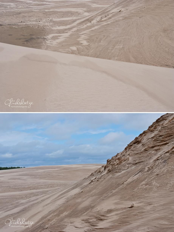 leba dunes wanderdüne ostsee poland baltic sea