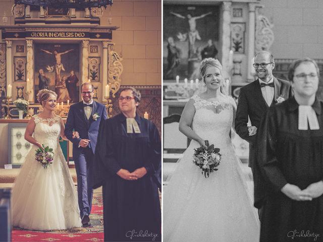 Conny und Micha – eine warmherzige Hochzeit in St. Johannes in Lychen (Uckermark)